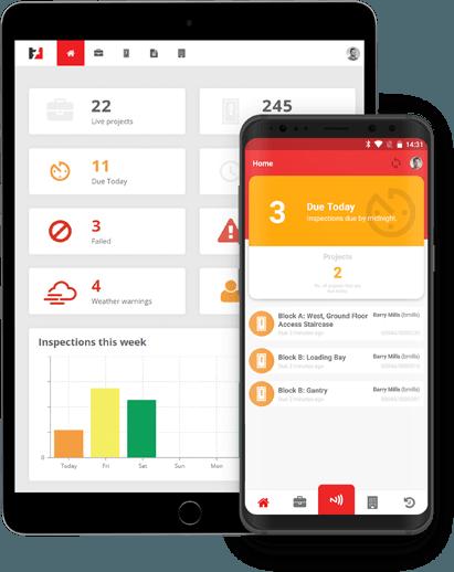 Inspect7 Scaffolding Inspection App & Portal